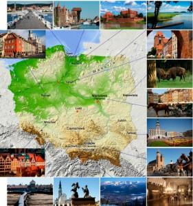 Polonia-mapa