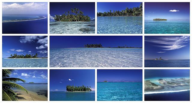 collage Rangiroa