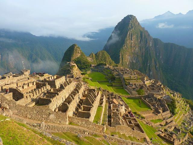 Machu Picchu Perú Inca Turismo Arquitectura