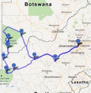 Ruta-Botswana