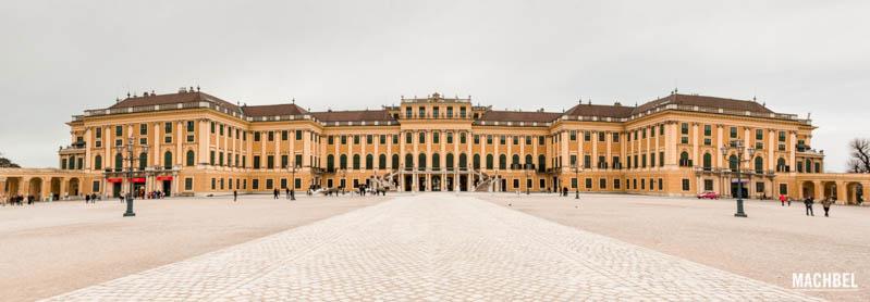 Panorámica del Palacio de Schönbrunn