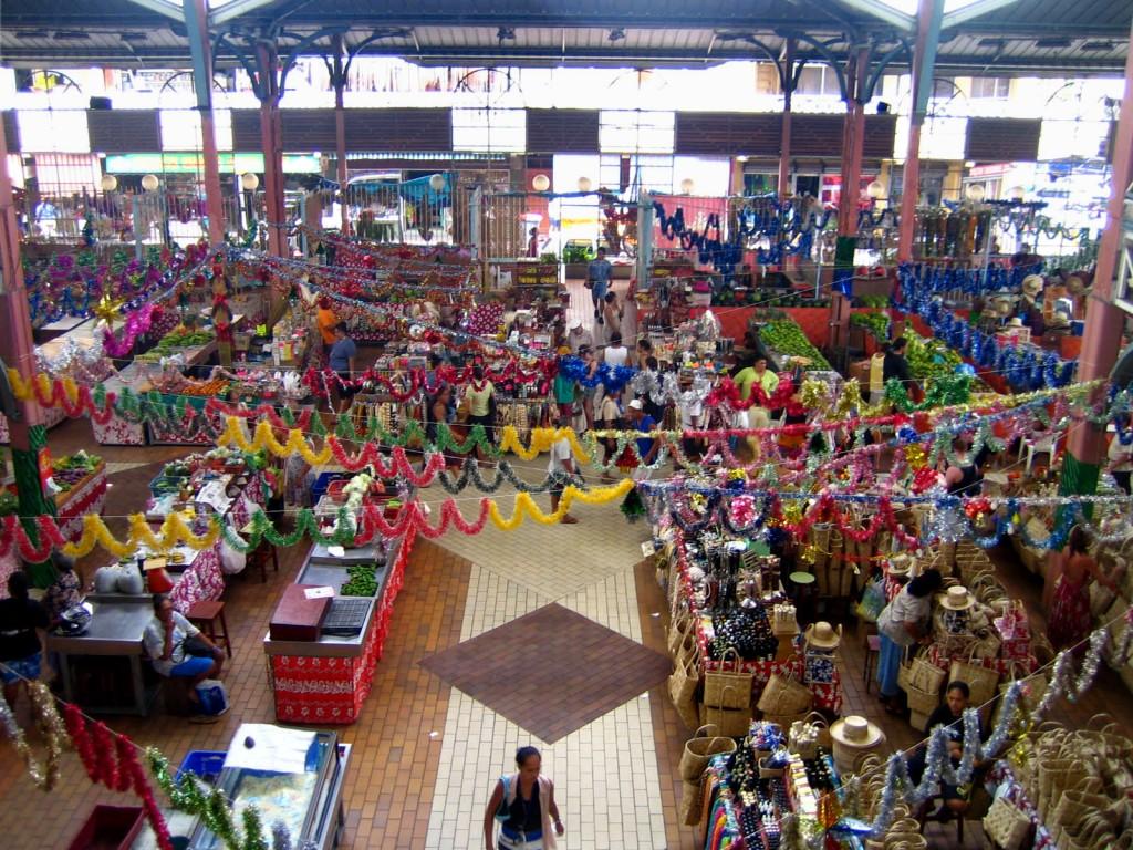 mercado de Papeete