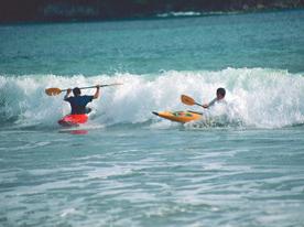 Kayak y buceo con mascarilla 2