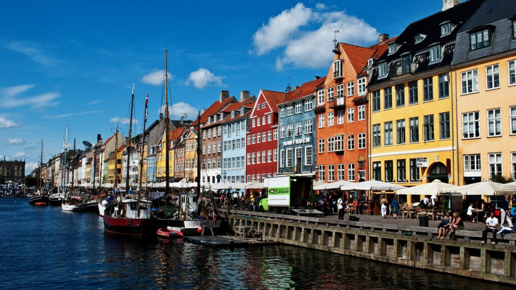 Picture of Copenhagen port