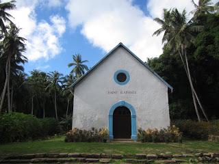 Iglesia rústica de Aukena