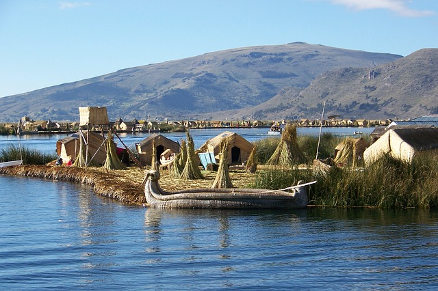 Isla Lago Titicaca Andy Perú
