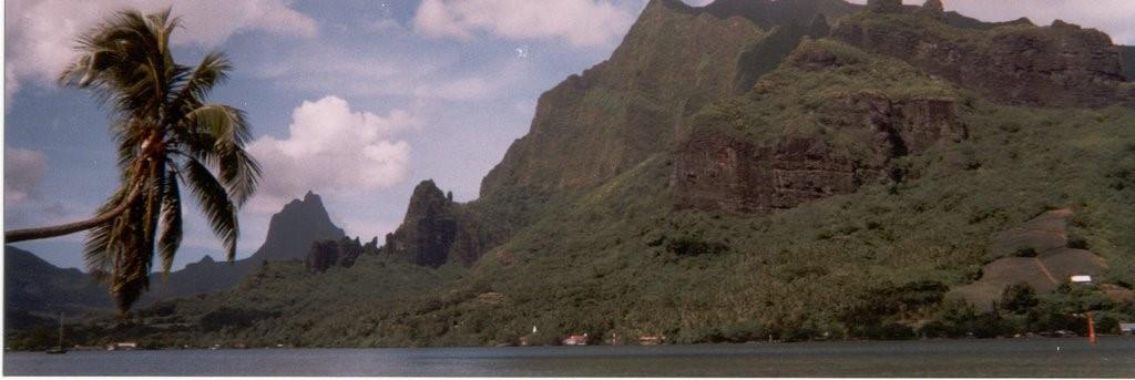 bahías de Cook y Opunohu