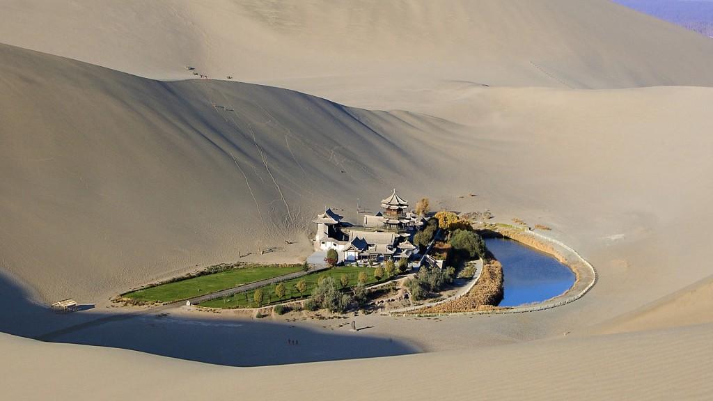 oasis desierto de gobi